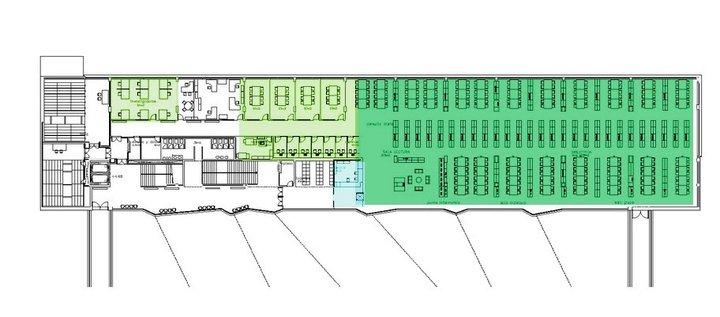Planos y ordenaci n de la sala de libre acceso for Planos de bibliotecas