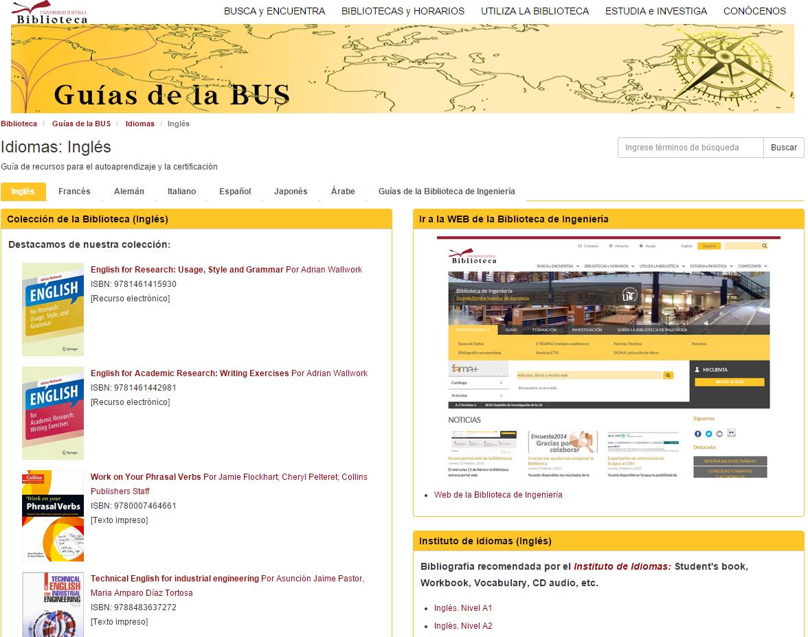 http://guiasbus.us.es/ingenieriaidiomas