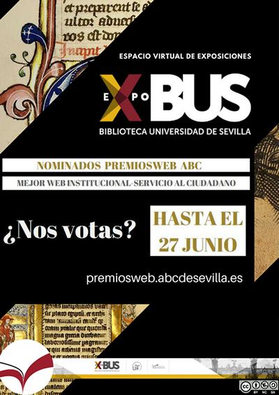Cartel difusión premio ABC ExpoBUS
