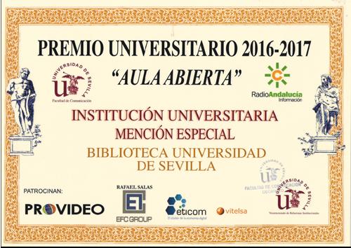 Premio Aula Abierta 2017