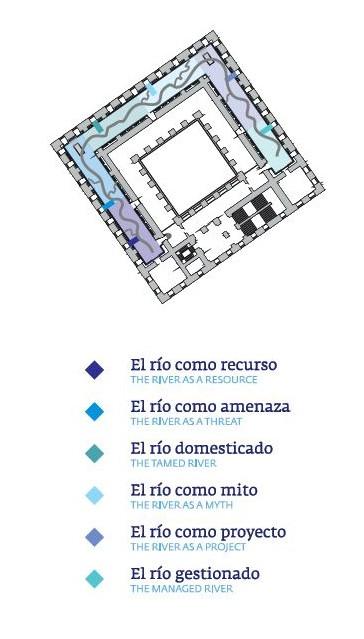 Salas de la exposición sobre el Guadalquivir