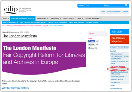 The London Manifesto