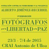 IV Exposición de Fotógrafos por la Libertad y la Paz en el CRAI Antonio de Ulloa